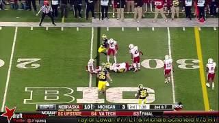 Taylor Lewan vs Nebraska (2013)