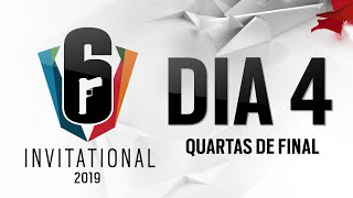 Six Invitational 2019 - Dia 4 (Quartas de Final)