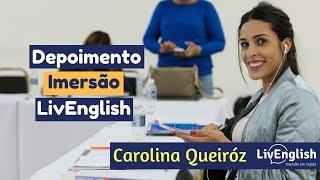 Depoimento de Caroline Queiróz
