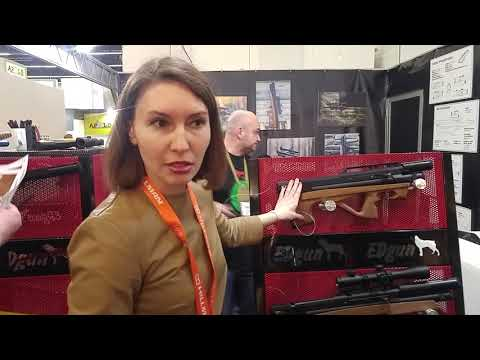 Edgun на выставке IWA 2018 (видео)