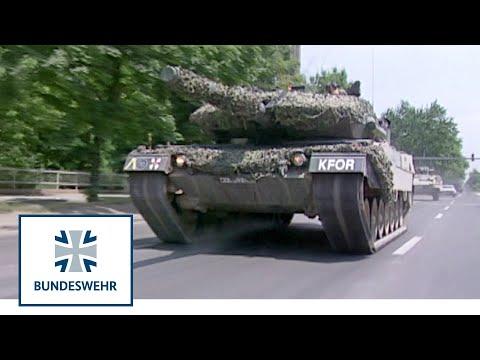 Classix: Einmarsch der Bodentruppen zur KFOR-Mission (1999) - Bundeswehr
