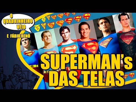 Superman's do Cinema e da TV