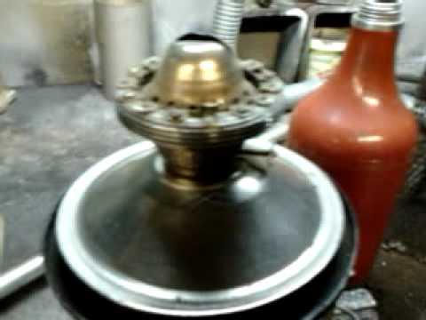 Печка на отработке греет и варит 1waste oil