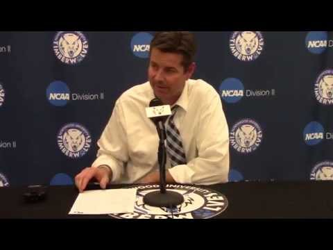 Northwood University Men's Basketball (2/19/15) Michigan Tech 83, NU 81 - Press Conference