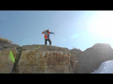 luke mitrani - Luke Mitrani decides he doesn't need his snowboard anymore to get down the hill. One of the most groundbreaking things we have ever seen in Parkour.