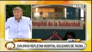 Reportaje TV - Chile tiene que buscar salud en Tacna