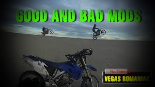 9. GOOD and BAD mods for Yamaha WR450F