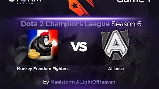 Alliance vs MFF, game 1