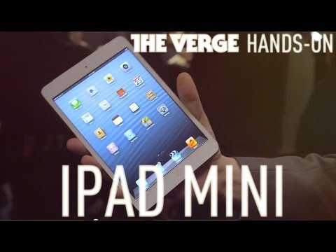 Apple iPad mini hands-on demo