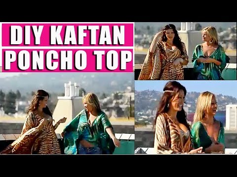 DIY how to make a Designer Kaftan