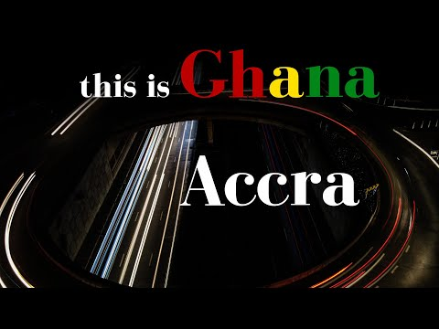 Intersections at Night - Accra   This Is Ghana