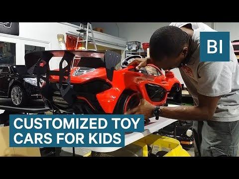 Tämä firma kustomoi lapsesi leikkiauton – Komeaa jälkeä!