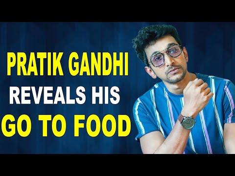 Scam 1992 fame Pratik Gandhi reveals his goto food