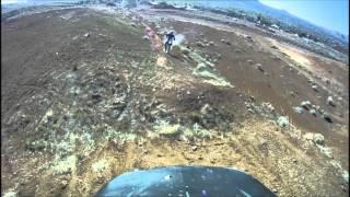 7. 2006 Yamaha TTR 250 jumping