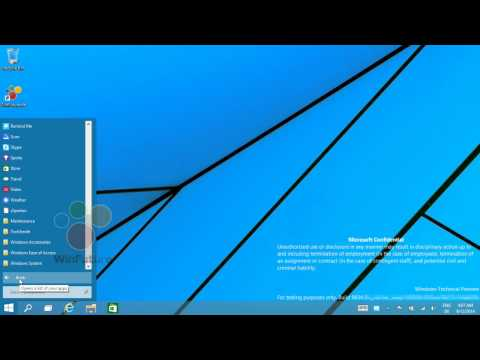 Windows 9: Menu Start anche senza Liv...