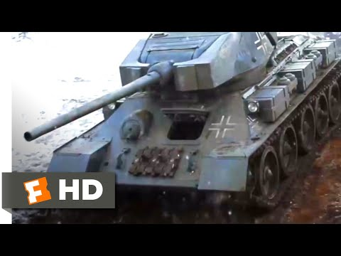 Company of Heroes (2013) - Sniper vs. Tank Scene (3/10) | Movieclips
