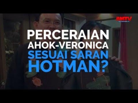 Perceraian Ahok-Veronica Sesuai Saran Hotman?