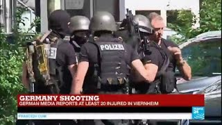 Viernheim Germany  city photo : Germany: gunman fires shots at German cinema in Viernheim