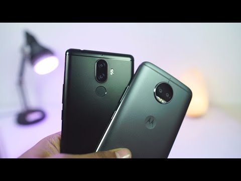 Moto G5s Plus vs Lenovo K8 Note Comparison