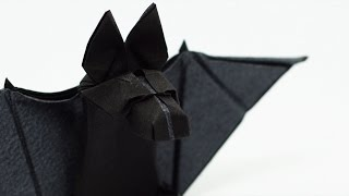 Origami Bat Time-lapse (Tom Defoirdt)
