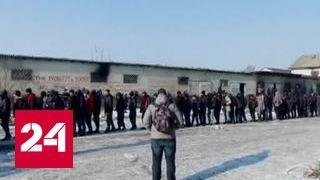 Чтобы спастись от европейских холодов, мигранты жгут все, что попадется