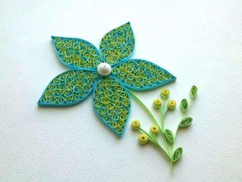 Quilling Tutorial Quilling flowers tutorial. Quilling art. Quilling flowers design.