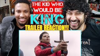 THE KID WHO WOULD BE KING | Official TRAILER REACTION!!! by The Reel Rejects