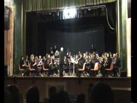 """Fragmentos Op """"Aida"""" BANDA DE MÚSICA DE PUERTOLLANO Santa Cecilia 2013"""