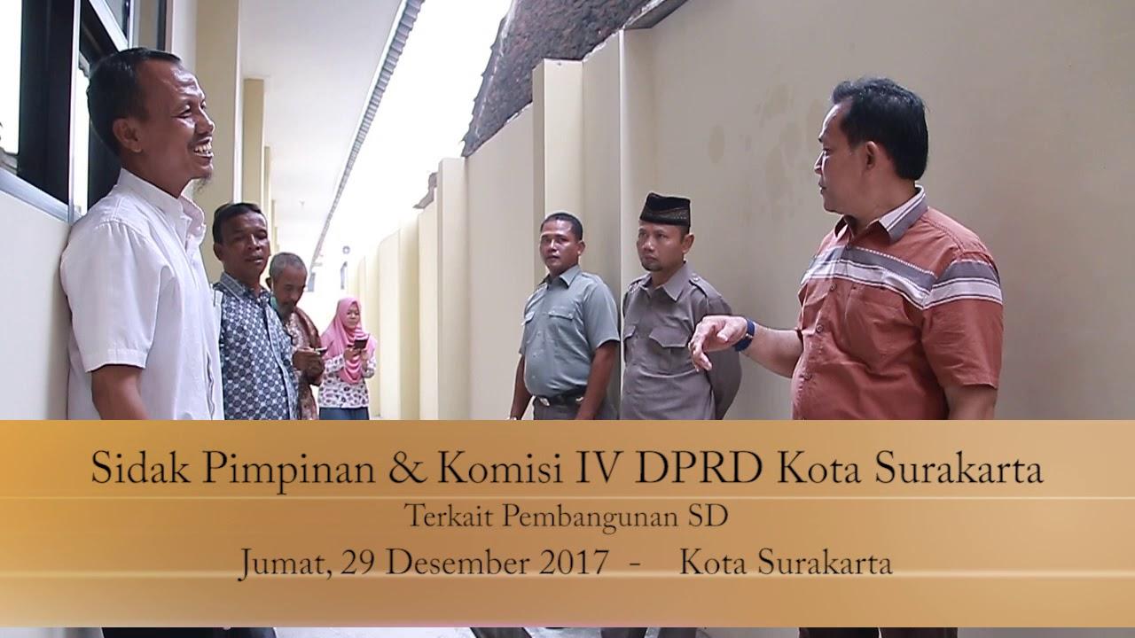 Jumat 29 Desember 2017 Sidak Komisi IV Pembangunan SD