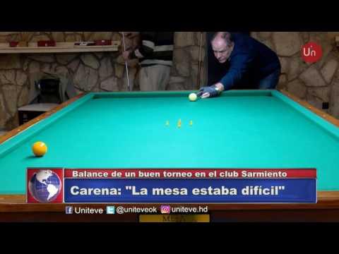 Torneo de Billar en Club Sarmiento
