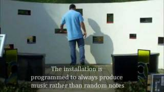 Interactive Sound Wall