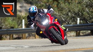 2. 2018 Honda CBR650F and CB650F First Test Review Video | Riders Domain