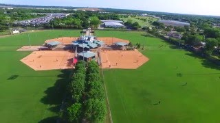 Euless (TX) United States  city photos gallery : An Aerial View of Softball World in Euless TX