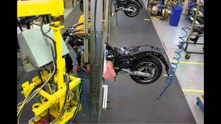 7. Victory Motorcycles Cross Country Assembly Time-Lapse