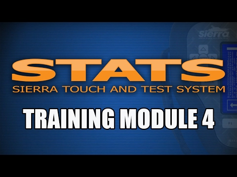 Module 4—STATS Training Module 4