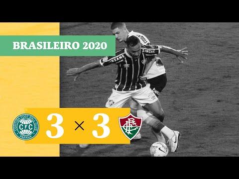 Coritiba 3 x 3 Fluminense - Gols - 20/01/21 - Brasileirão 2020