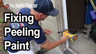 Peeling Paint Hack