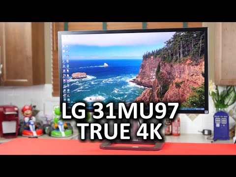 LG 31MU97 - My First TRUE 4K Monitor
