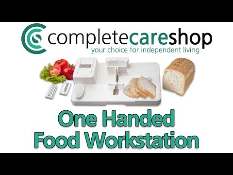 One Handed Food Workstation Features