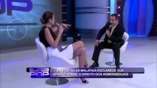 Pr. Silas Malafaia no programa Super Pop da Luciana Gimenez - COMPLETO
