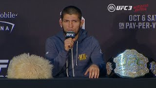 Video UFC 229: Post-fight Press Conference MP3, 3GP, MP4, WEBM, AVI, FLV Desember 2018