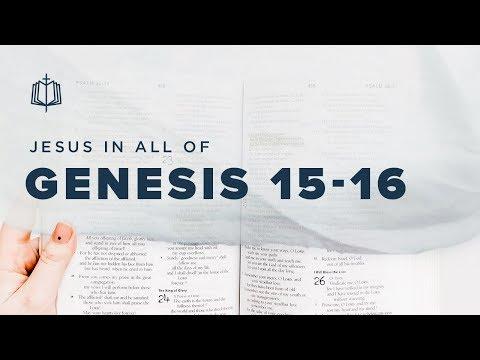 HAGAR   Bible Study   Jesus In All of Genesis 15-16