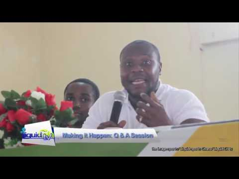 Video: Making it Happen seminar: Charles and Alem on discrimination of disabled athlete