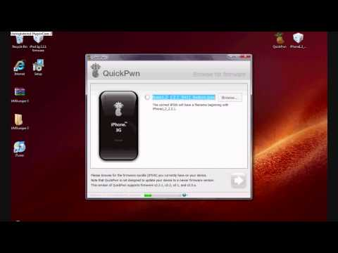 How to jailbreak iPhone/3g iPod touch 2.2.1