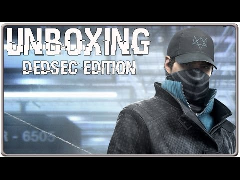Unboxing Watch_Dogs DEDSEC Edition (XBO Eur. Version)