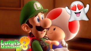 I SAVED TOAD!!   Luigi's Mansion 3 [#5]