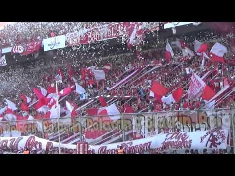 Independiente 1 - 1 Racing | El Recibimiento - La Barra del Rojo - Independiente