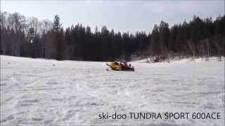 6. 2012 ski-doo TUNDRA SPORT 600ACE