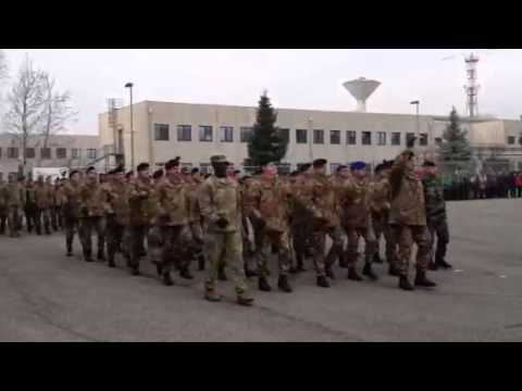 I militari italiani della Nato partono per l'Afghanistan