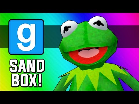 Gmod: Frogger! (Garry's Mod Sandbox Funny Moments)
